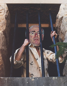 John Howard behind bars